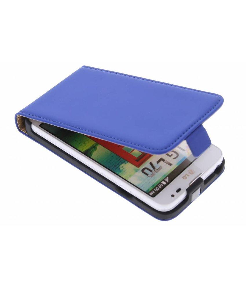 Mobiparts Premium flipcase LG L70 - Blue