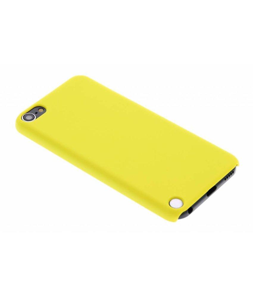 Geel effen hardcase iPod Touch 5g / 6