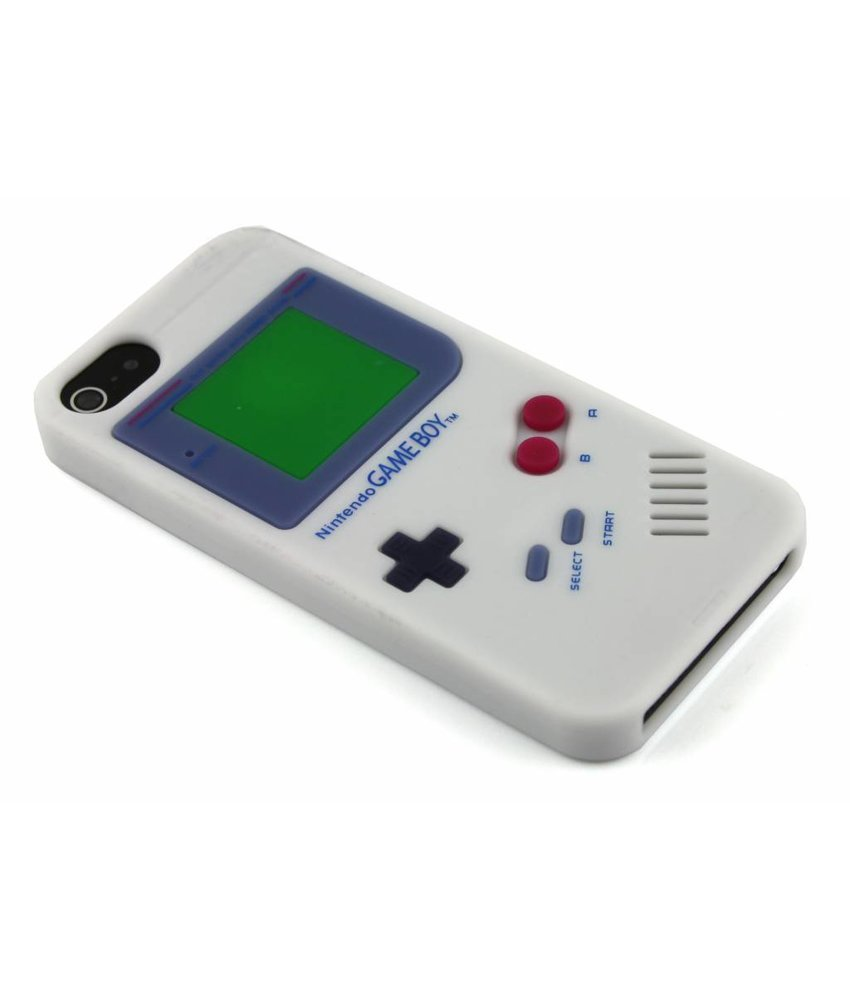 Wit gameboy siliconen hoesje iPhone 5 / 5s / SE
