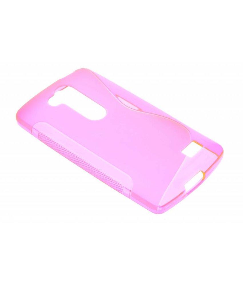 Rosé S-line TPU hoesje LG L Fino / L70 Plus