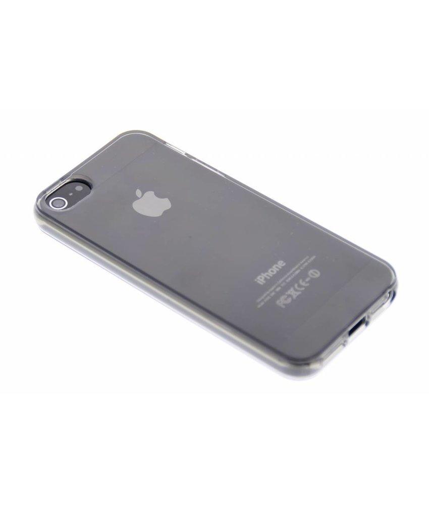 Grijs transparant gel case iPhone 5 / 5s / SE