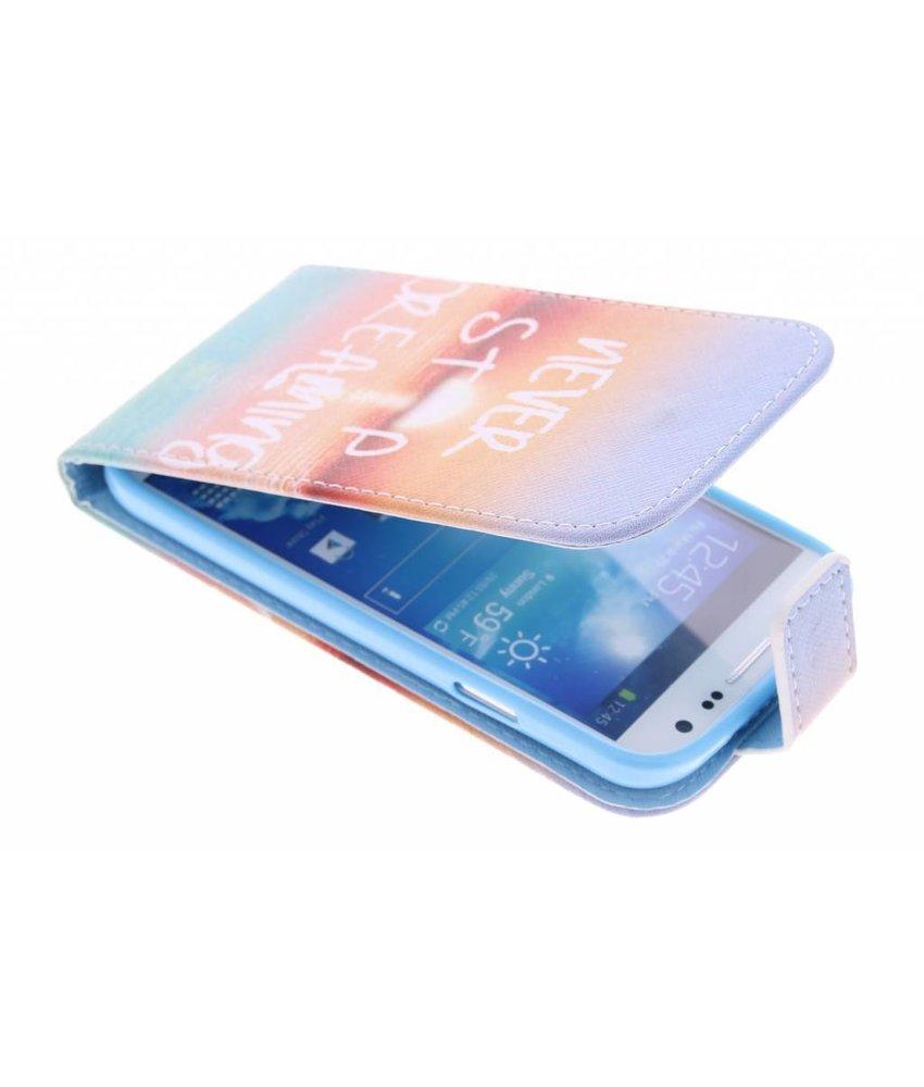 Design TPU flipcase Samsung Galaxy S4