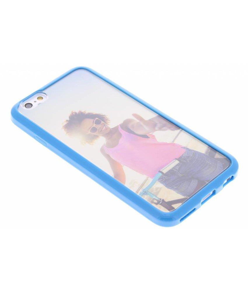 Muvit MyFrame Case met fotolijst iPhone 6 / 6s - blauw
