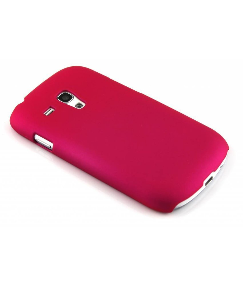 Fuchsia effen hardcase Samsung Galaxy S3 Mini