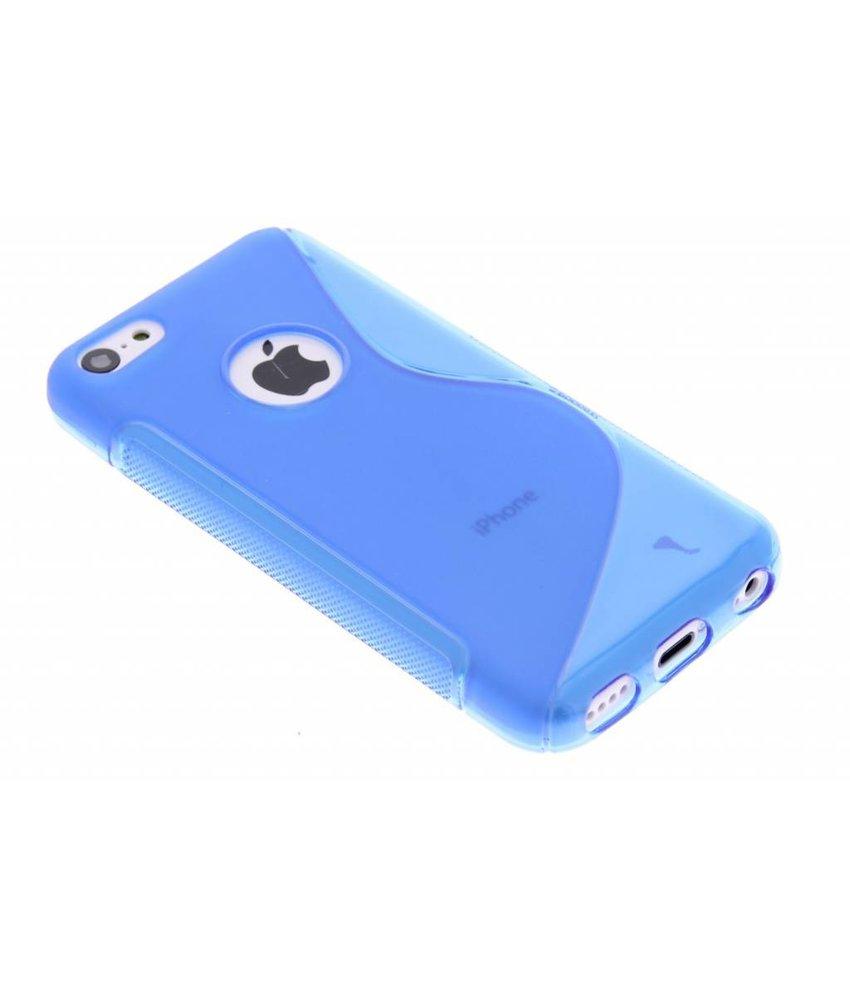 Blauw S-line TPU hoesje iPhone 5c