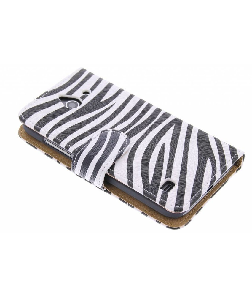 Zebra booktype hoes Huawei Ascend Y550