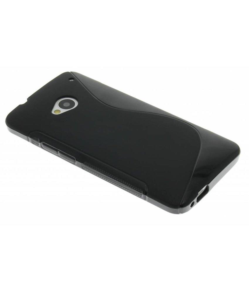 Zwart S-line TPU hoesje HTC One