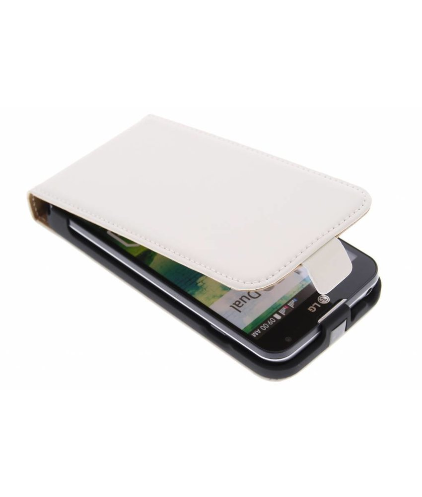 Mobiparts Premium flipcase LG L90 - White