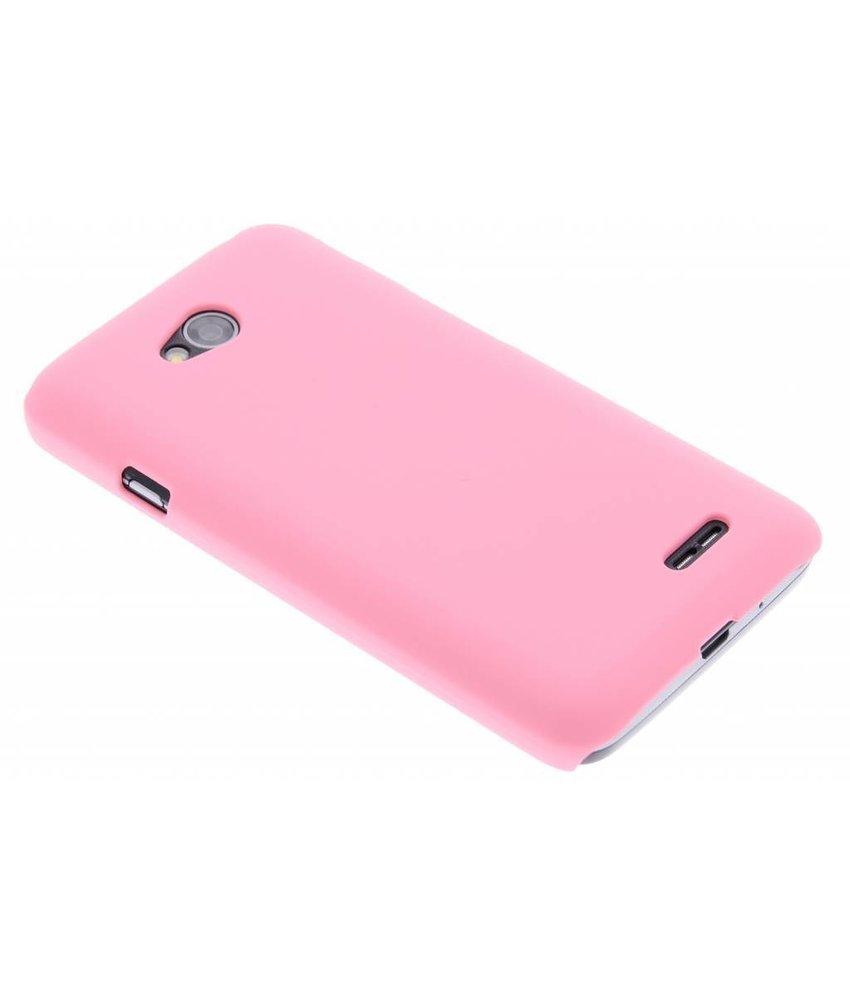 Roze effen hardcase hoesje LG L70 / L65