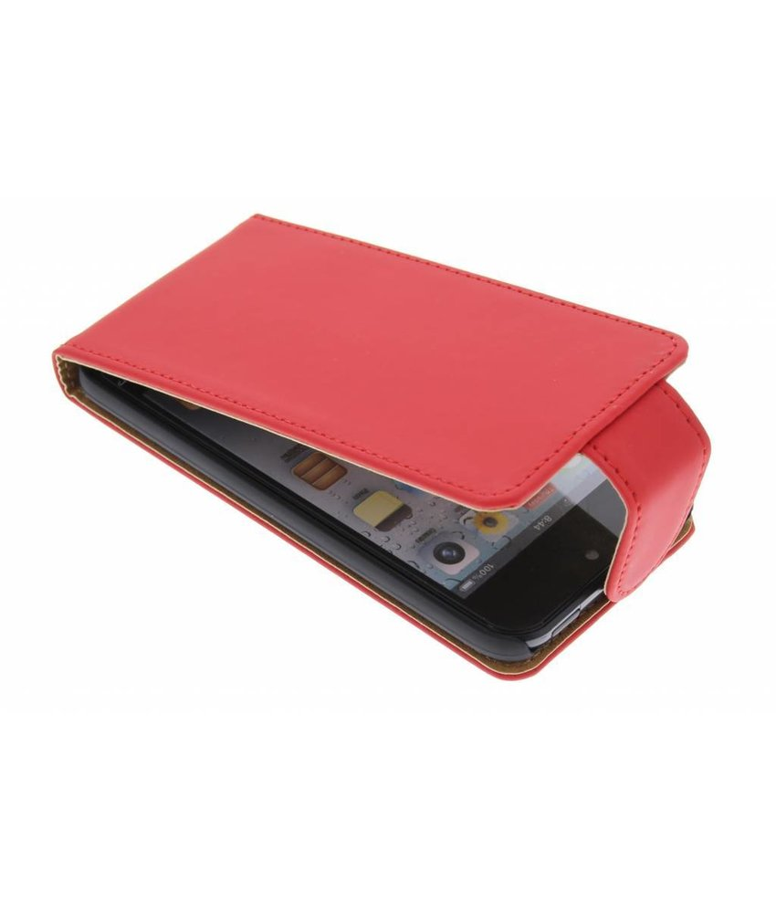 Rood classic flipcase iPod Touch 5g / 6