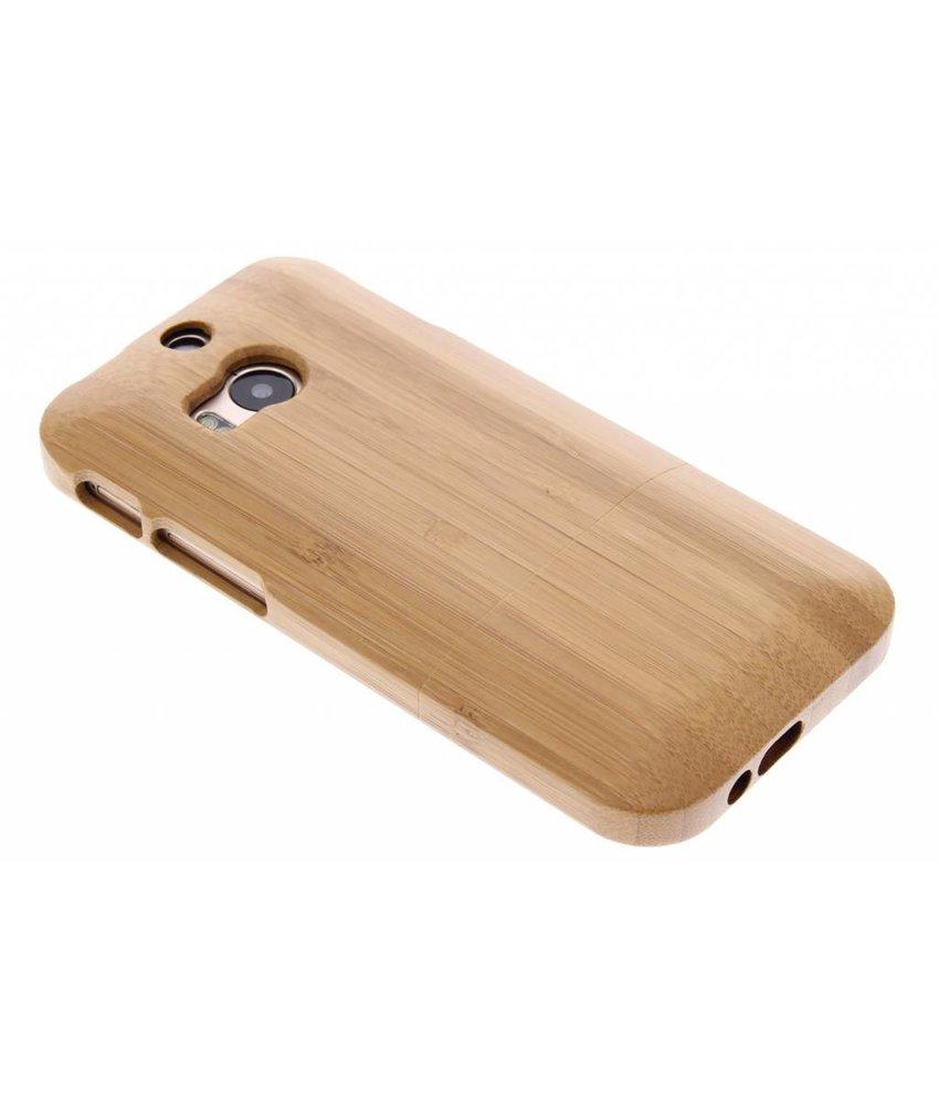 Houten hardcase hoesje HTC One M8 / M8s