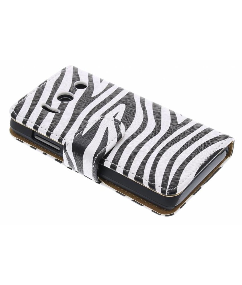 Zebra booktype hoes Huawei Ascend Y300