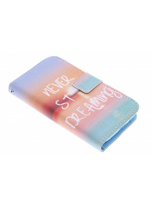 Design TPU booktype hoes LG L90