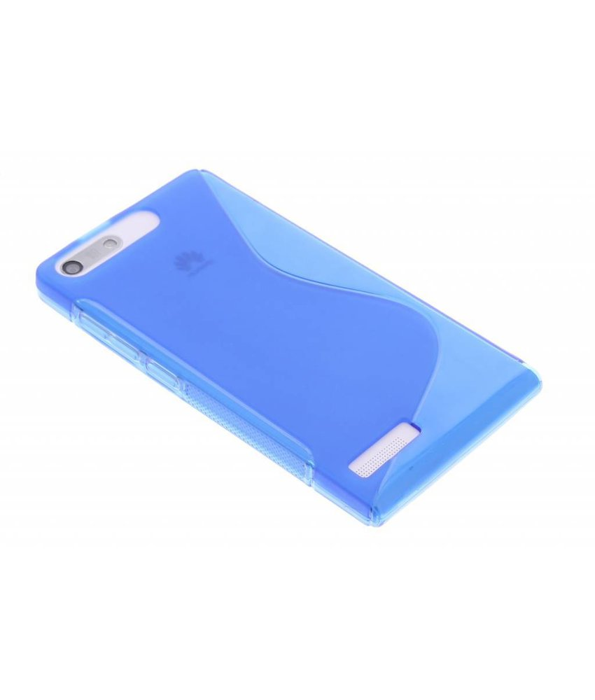 Blauw S-line TPU hoesje Huawei Ascend G6
