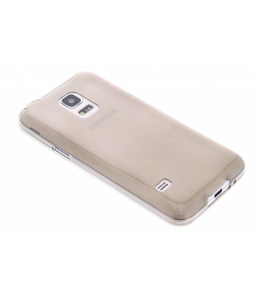 Grijs ultra thin TPU hoesje Samsung Galaxy S5 Mini