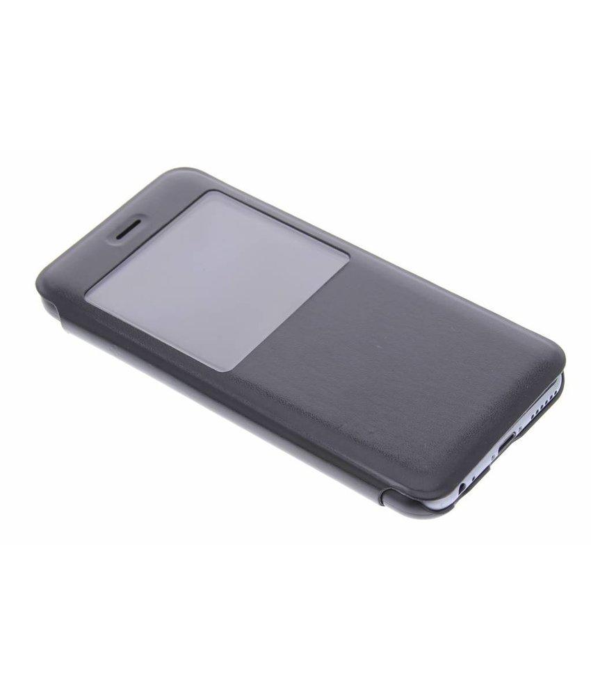 Zwart stijlvolle slim booktype hoes iPhone 6 / 6s