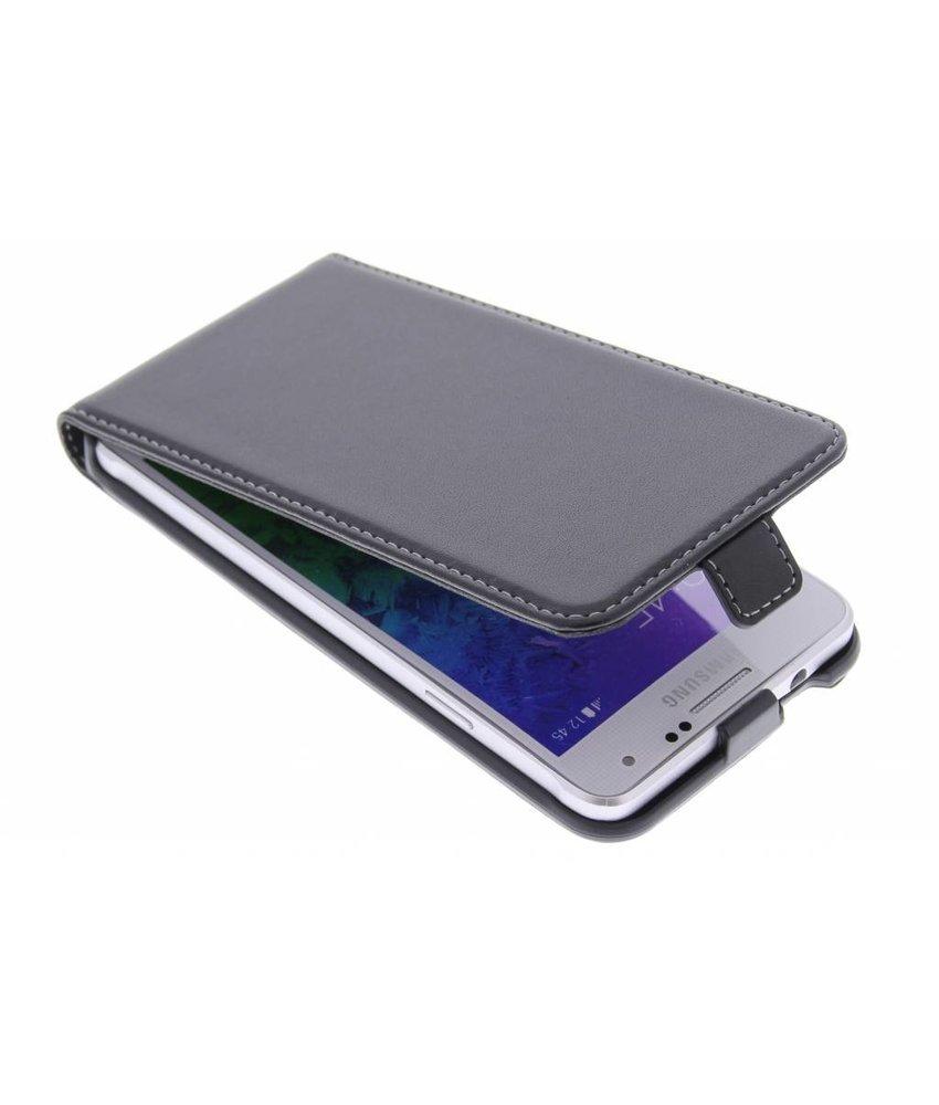 Muvit Slim Case Samsung Galaxy Alpha - Zwart