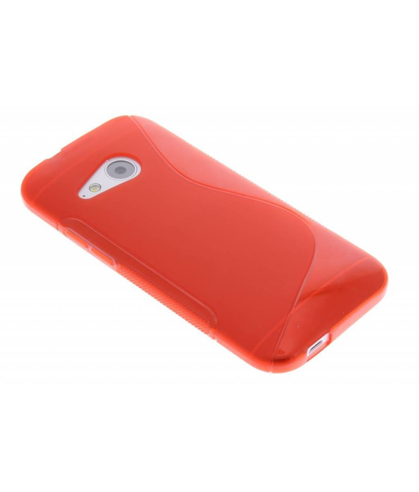Rood S-line TPU hoesje HTC One Mini 2