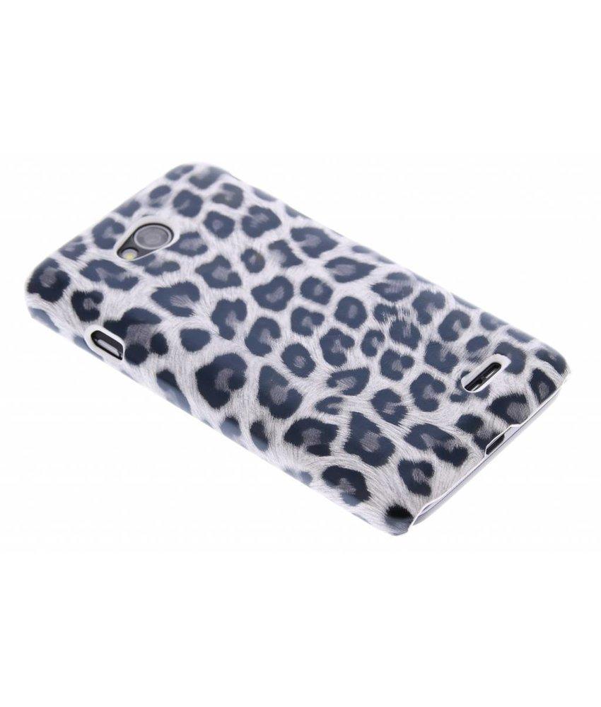 Grijs luipaard hardcase hoesje LG L70 / L65