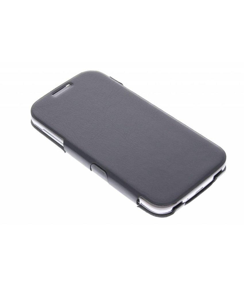 Muvit iFlip Folio Samsung Galaxy S4 - zwart