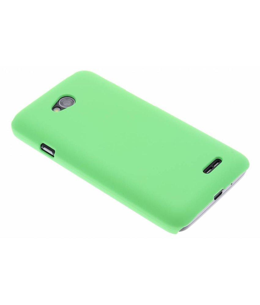 Groen effen hardcase hoesje LG L70 / L65