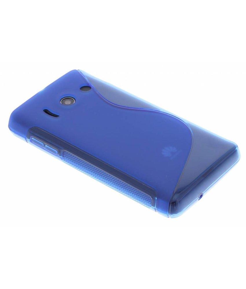 Blauw S-Line TPU hoesje Huawei Ascend Y300