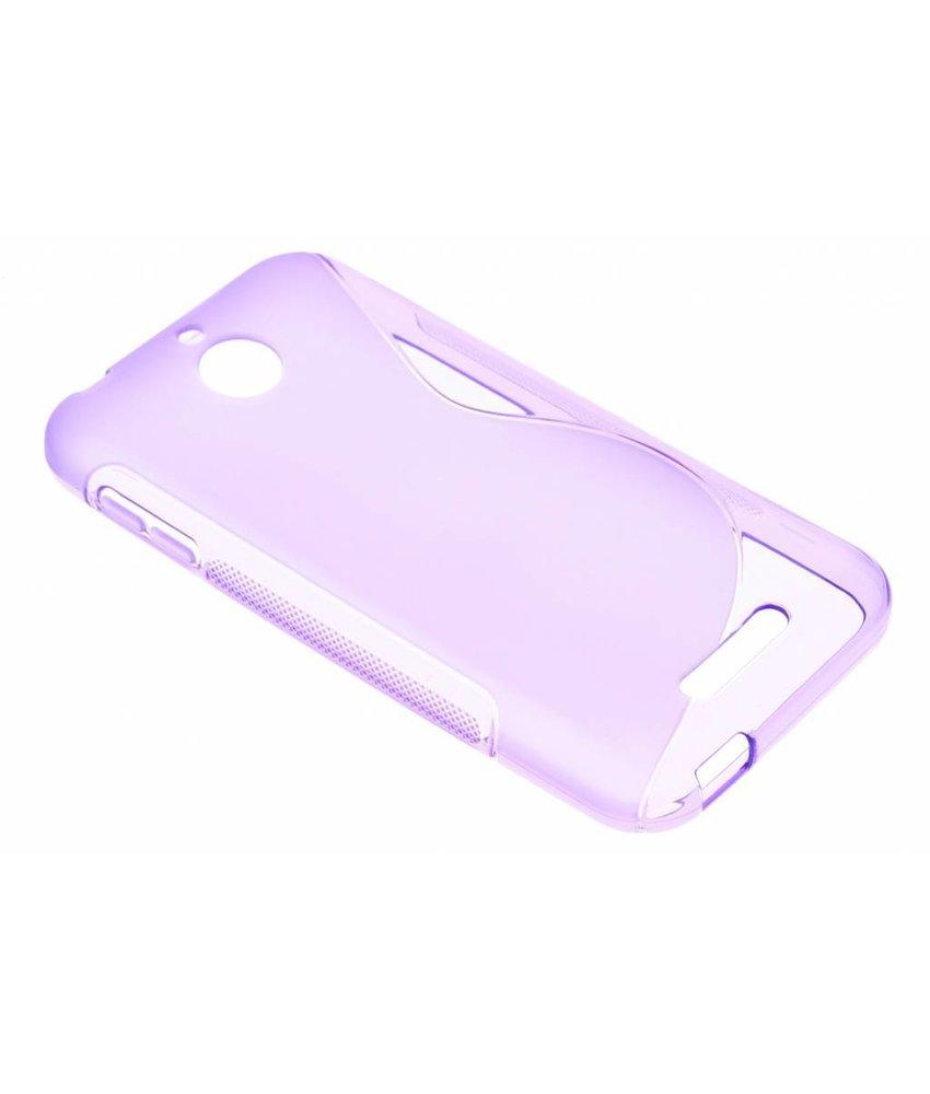 Paars S-line TPU hoesje HTC Desire 510
