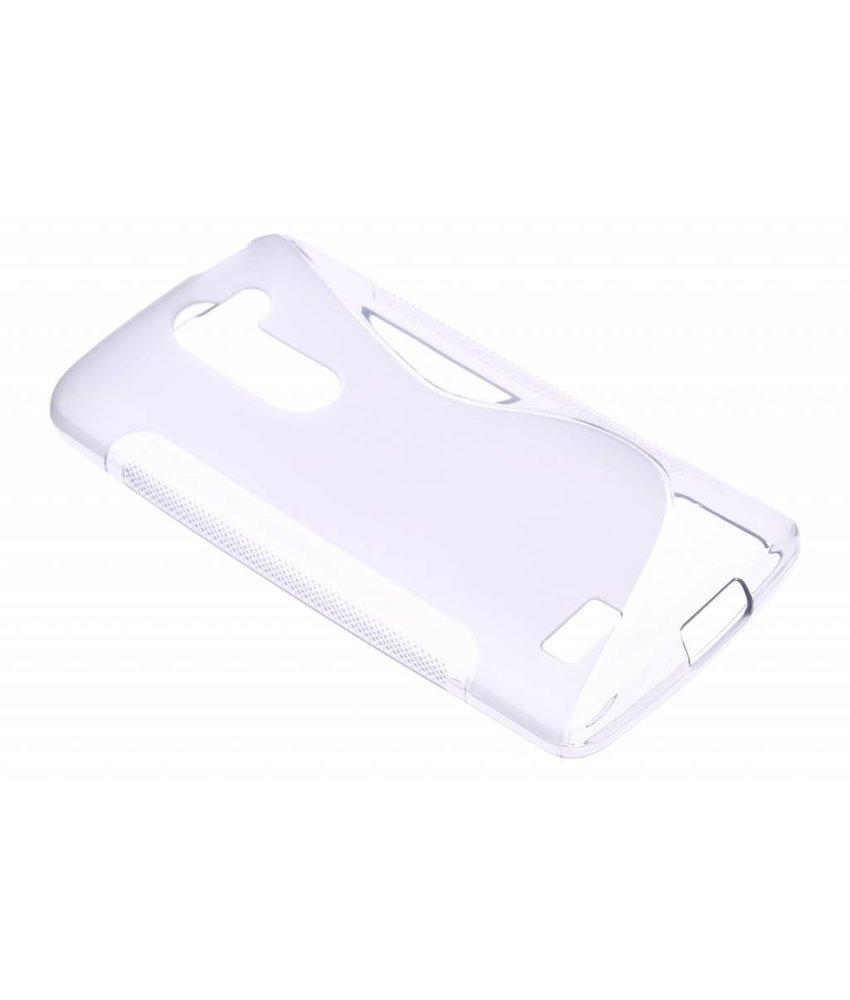 Grijs S-line TPU hoesje LG L Bello / L80 Plus
