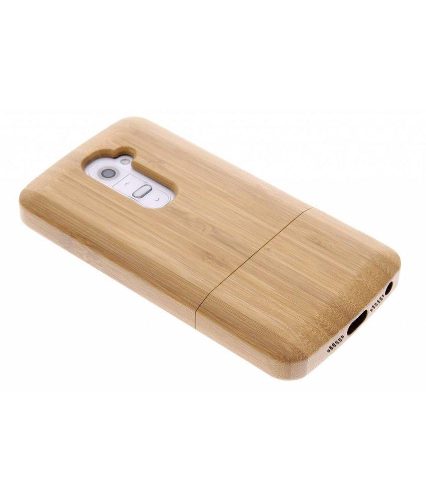 Echt houten hardcase hoesje LG G2