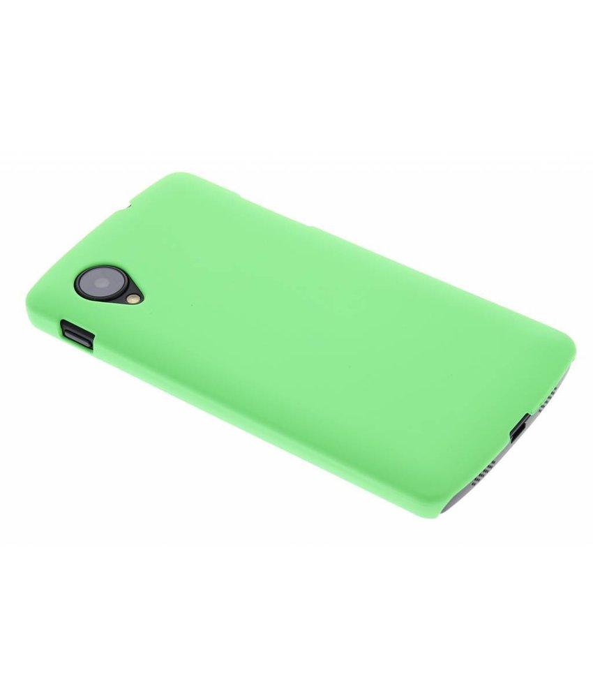 Groen effen hardcase hoesje LG Nexus 5