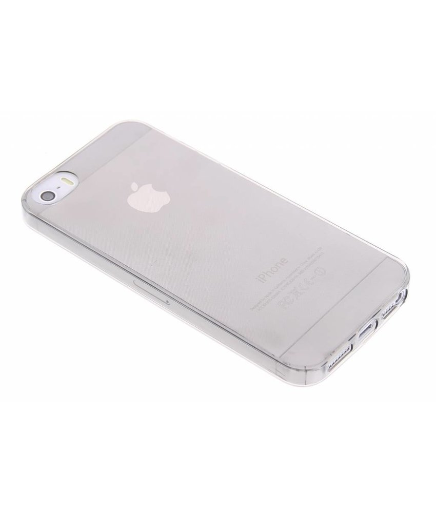 Ultra thin transparant TPU hoesje iPhone 5 / 5s / SE