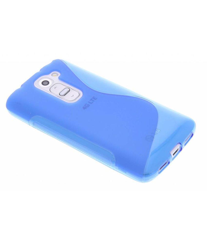 Blauw S-line TPU hoesje LG G2 Mini