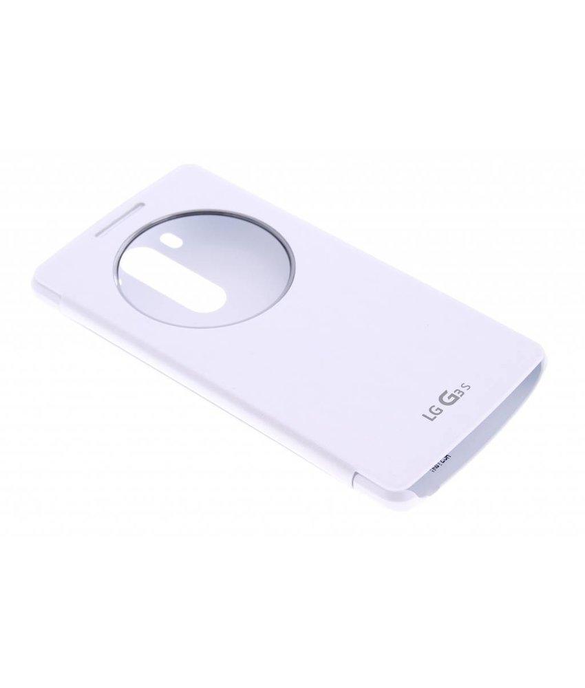 LG Quick Circle Case LG G3 S - Wit