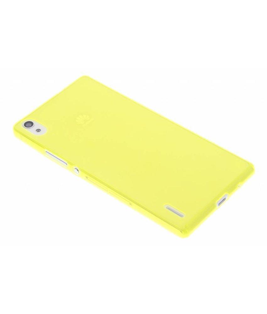 Ultra thin transparant TPU hoesje Huawei Ascend P7