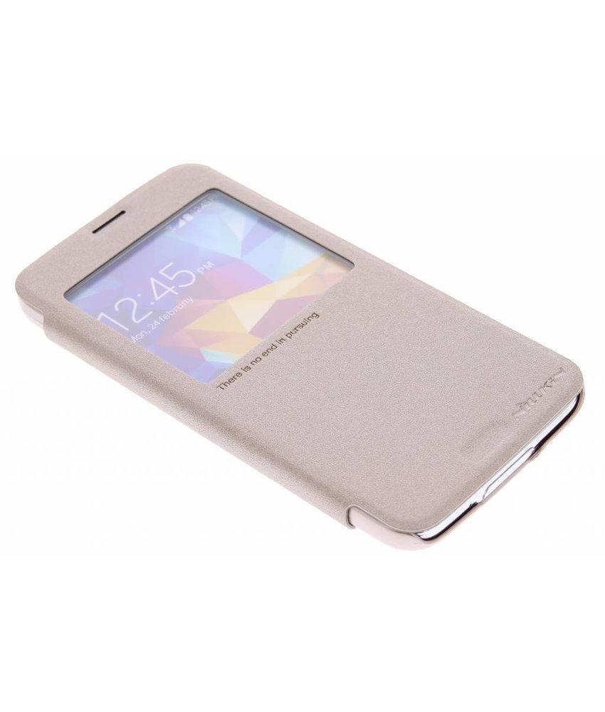Nillkin Sparkle booktype Samsung Galaxy S5 (Plus) / Neo - Goud
