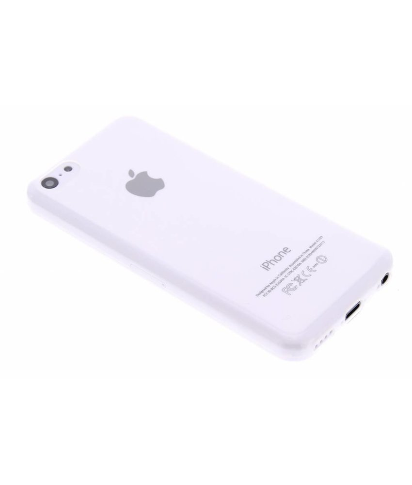 Ultra thin transparant TPU hoesje iPhone 5c