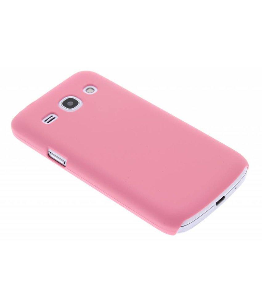 Roze effen hardcase Samsung Galaxy Core Plus