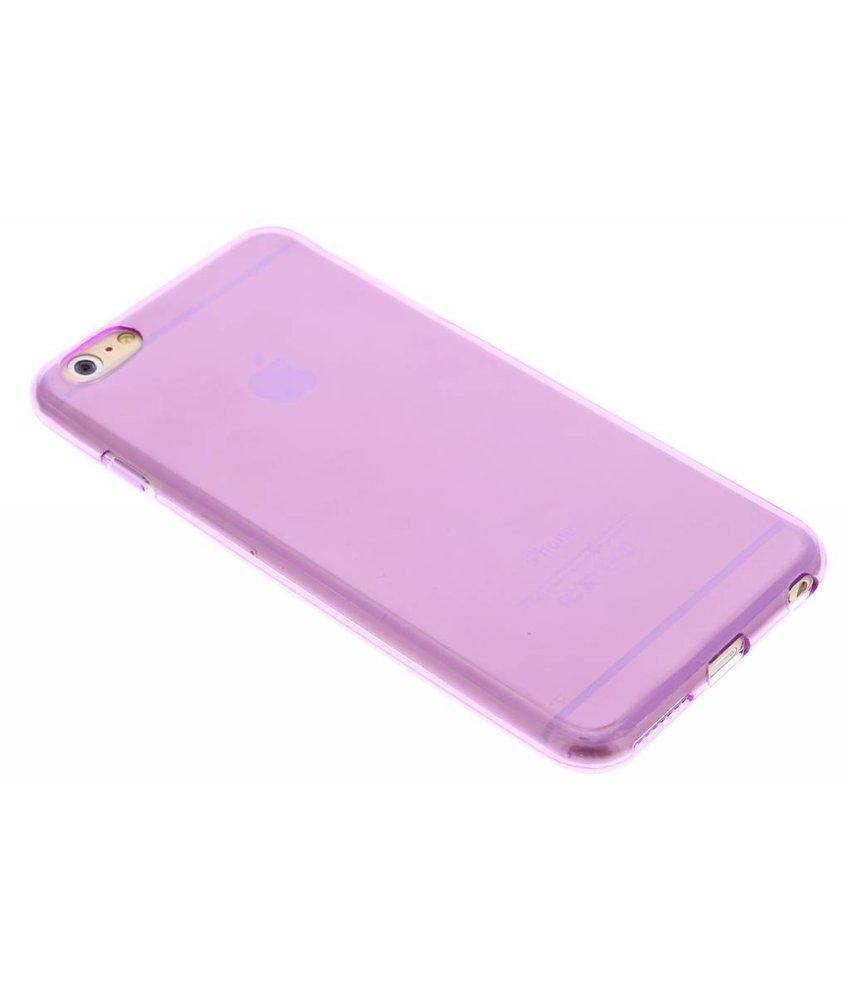 Transparant gel case iPhone 6(s) Plus