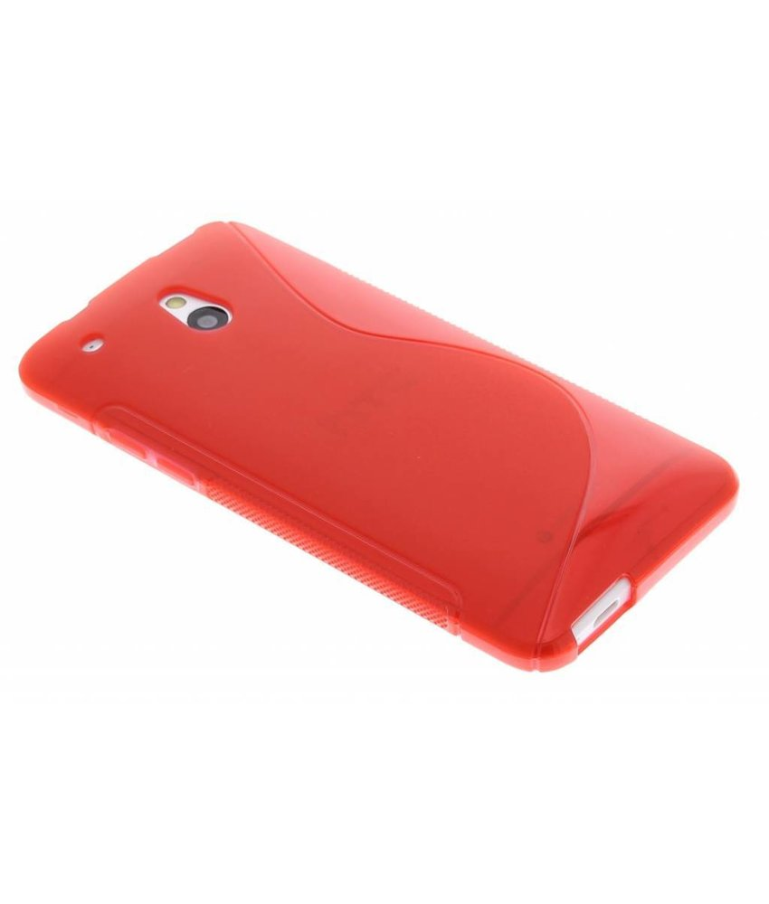 Rood TPU S-Line hoesje HTC One Mini