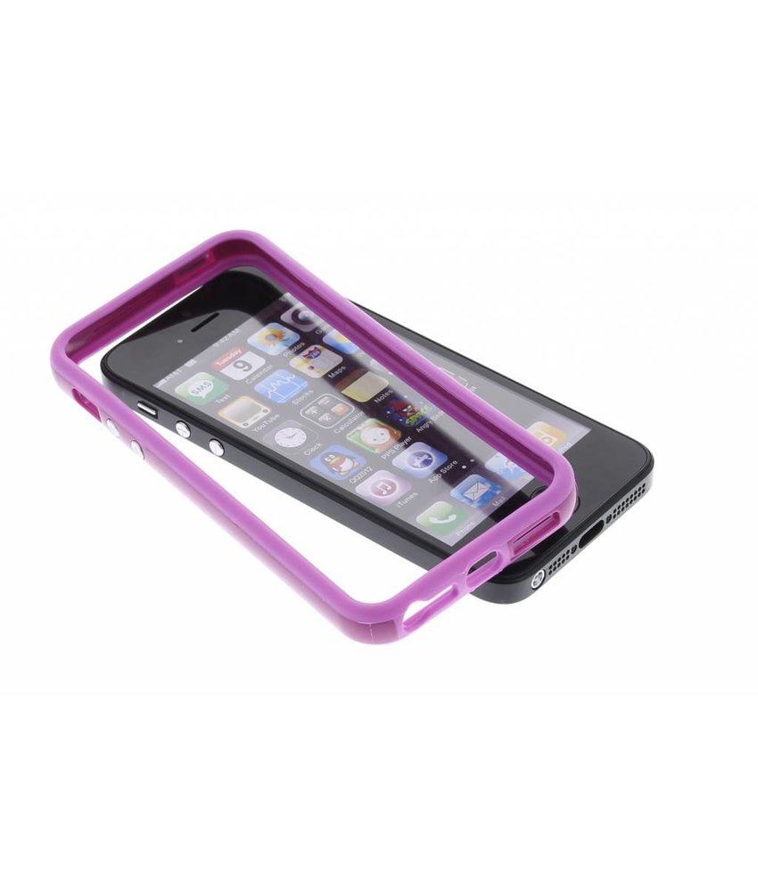 Paars bumper iPhone 5 / 5s / SE
