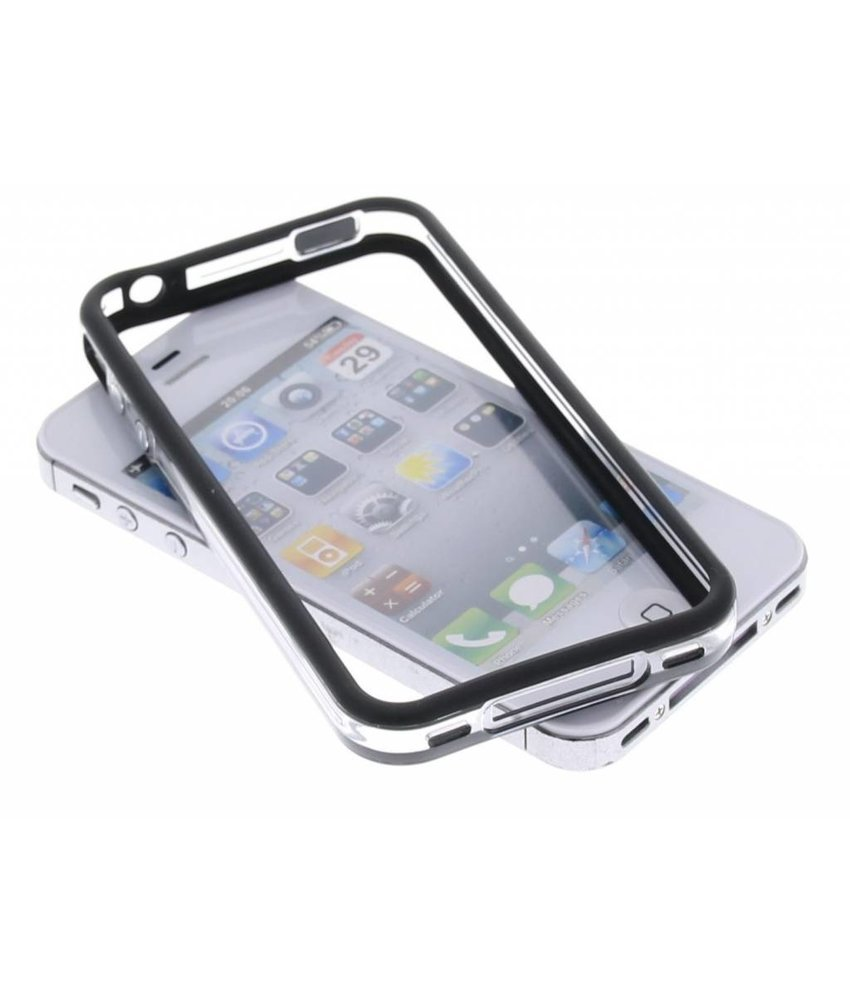 Dolce Vita zwart transparant bumper iPhone 4 / 4s