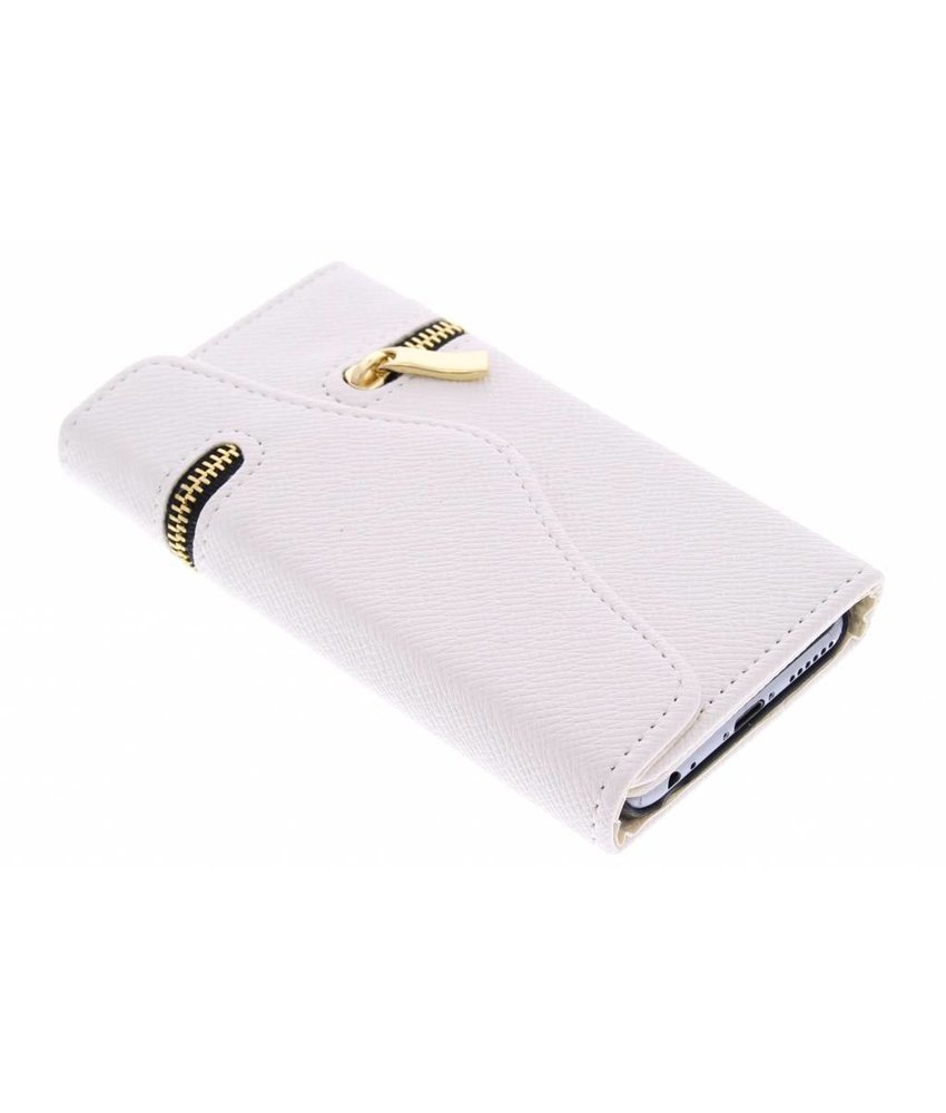 Wit classic portemonnee hoes iPhone 6 / 6s