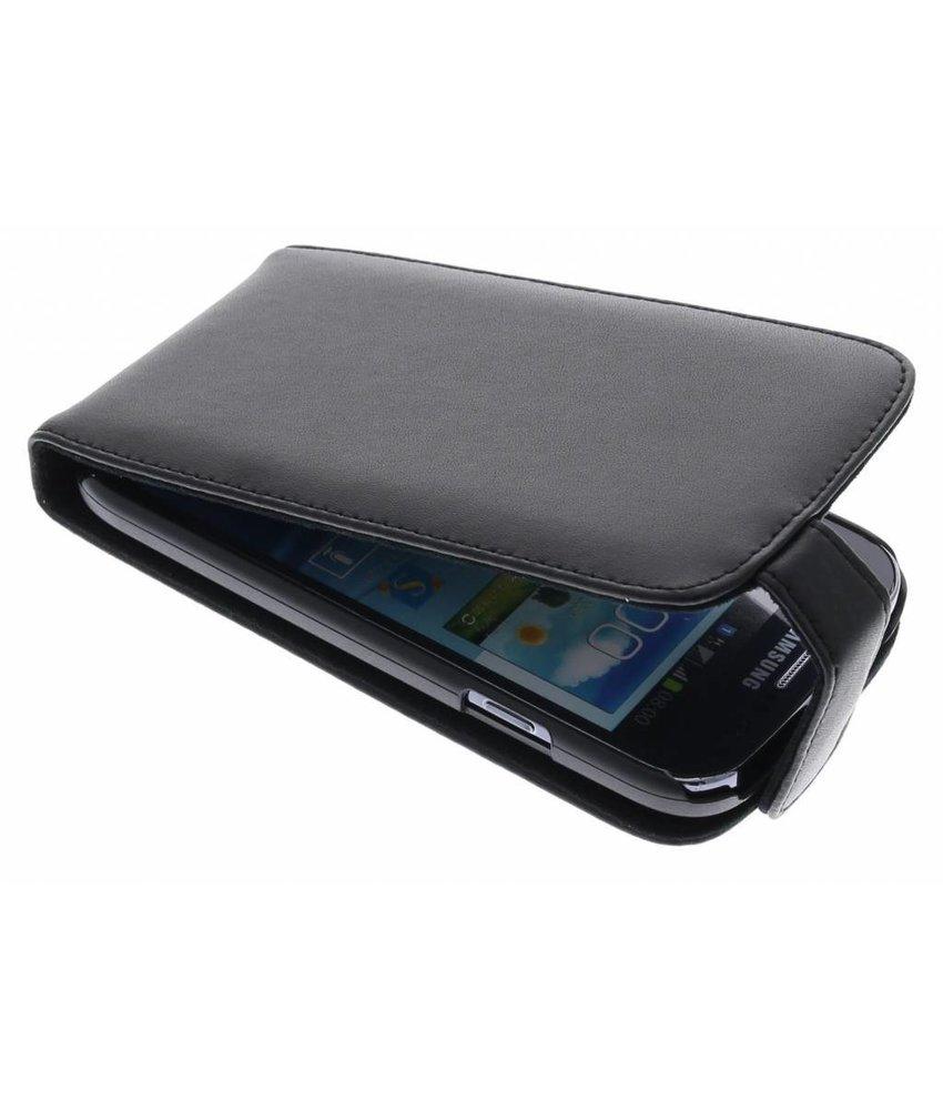 Zwart stijlvolle flipcase Samsung Galaxy Grand (Neo)