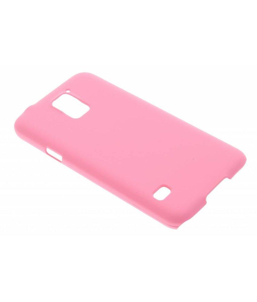 Roze effen hardcase hoesje Samsung Galaxy S5 (Plus) / Neo