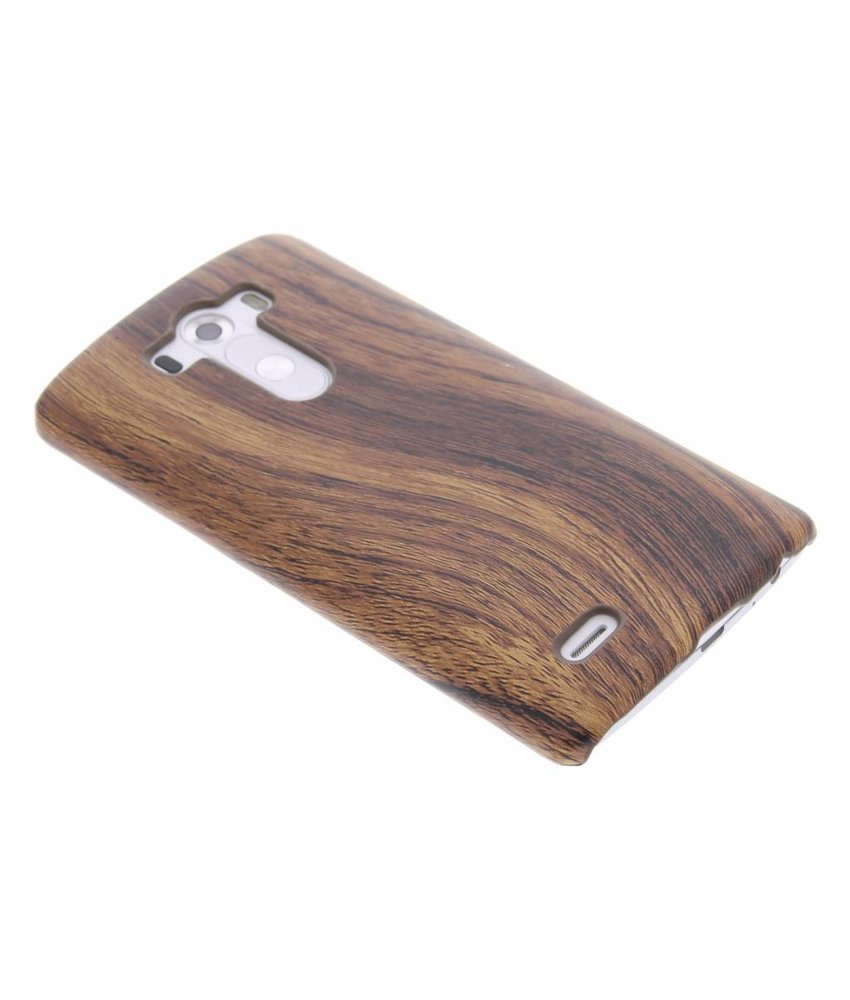 Hout design hardcase hoesje LG G3