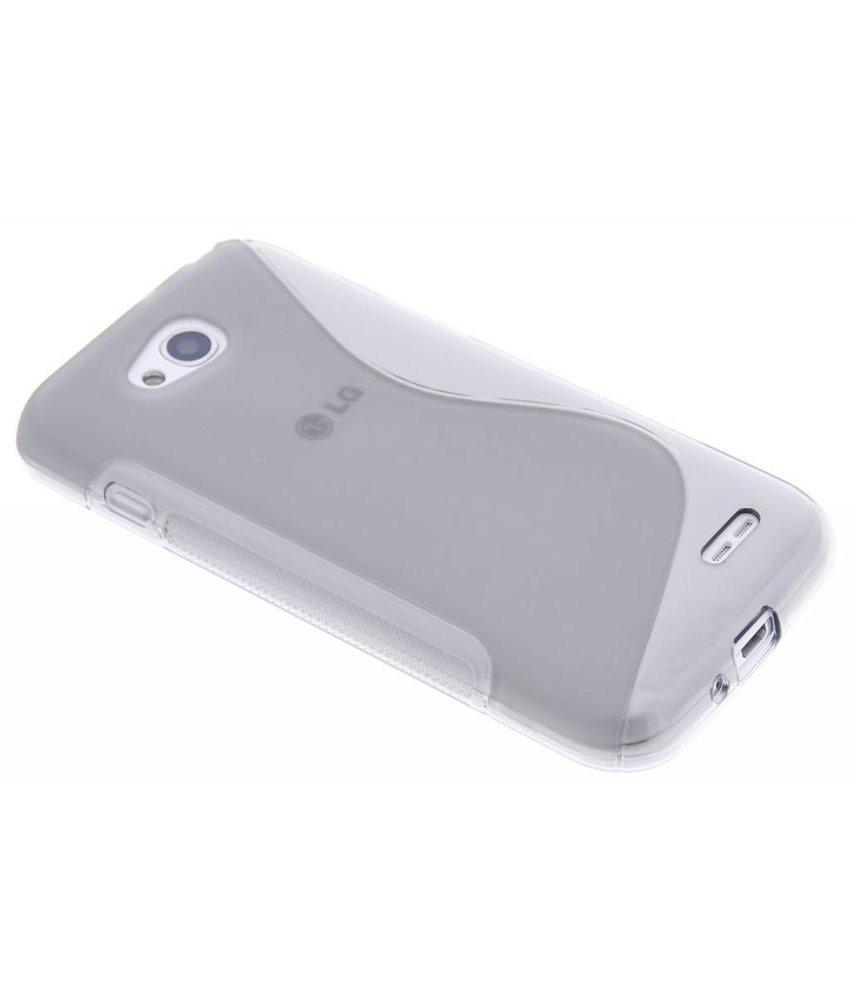 Grijs S-line TPU hoesje LG L90