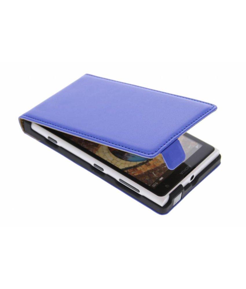 Blauw luxe flipcase Nokia Lumia 1020