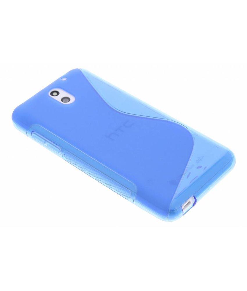 Blauw S-line TPU hoesje HTC Desire 610