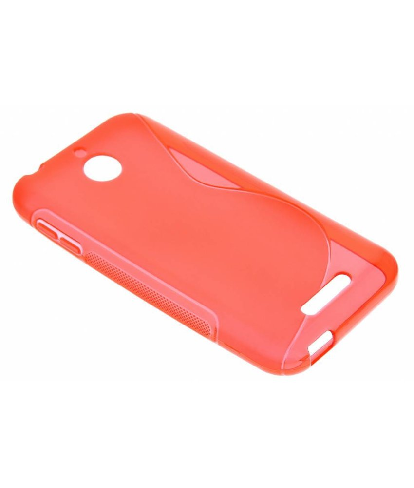 Rood S-line TPU hoesje HTC Desire 510