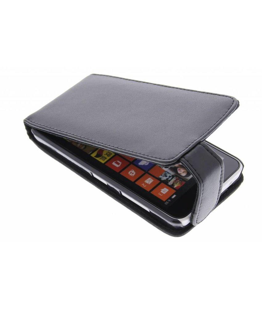 Zwart stijlvolle flipcase Nokia Lumia 630 / 635